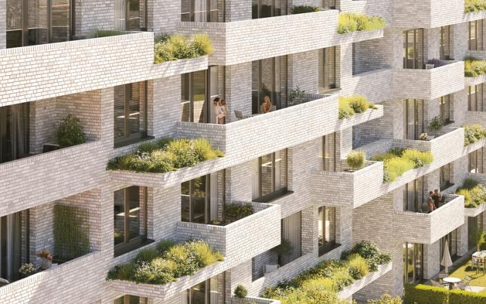 Wohnbebauung Göttingen